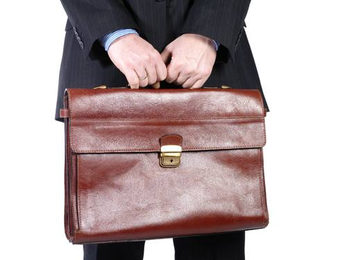 Business Man with Brief Case